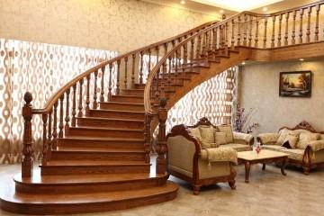 实木楼梯的立柱怎么安装好?实木楼梯立柱安装方法