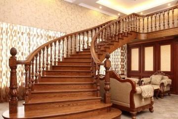 弧形楼梯如何设计好看一些?
