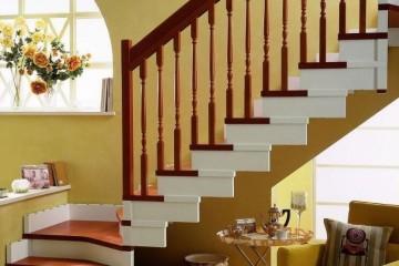 楼梯配件主要有哪些?实木楼梯扶手安装五金工具