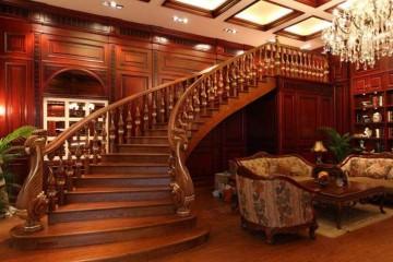 旋转楼梯配件有哪些?旋转楼梯尺寸介绍