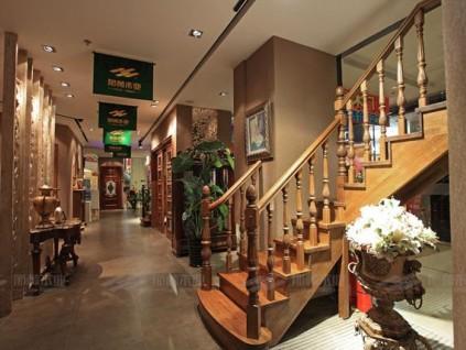 实木楼梯的保养及其颜色搭配