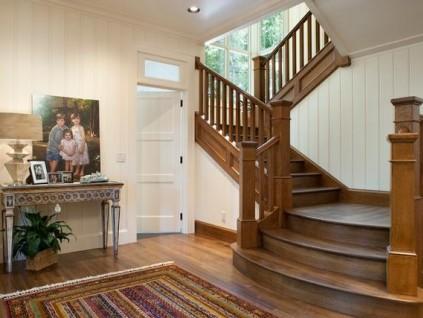 复式楼里玩创意,81款木质楼梯有惊喜!