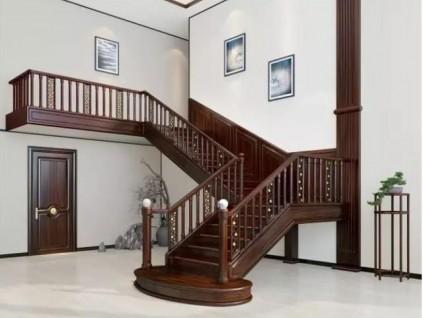 实木楼梯这样设计,美观又实用!
