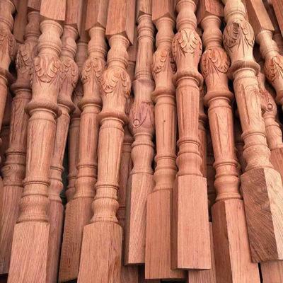红花梨加大柱楼梯扶手实木立柱 楼梯立柱厂家