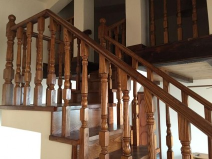 实木楼梯作品0412期