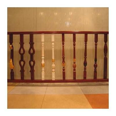 厂家直销 加工定做楼梯栏杆立柱 别墅工程实木扶手