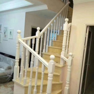优质欧洲榉木美国红橡楼梯立柱水泥楼梯实木楼梯立柱1号款