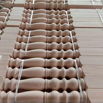 小排线柱实木楼梯立柱丰县楼梯厂家楼梯扶手立柱批发水泥楼梯安装