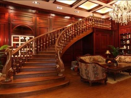 实木楼梯基本结构有哪些?(附图)