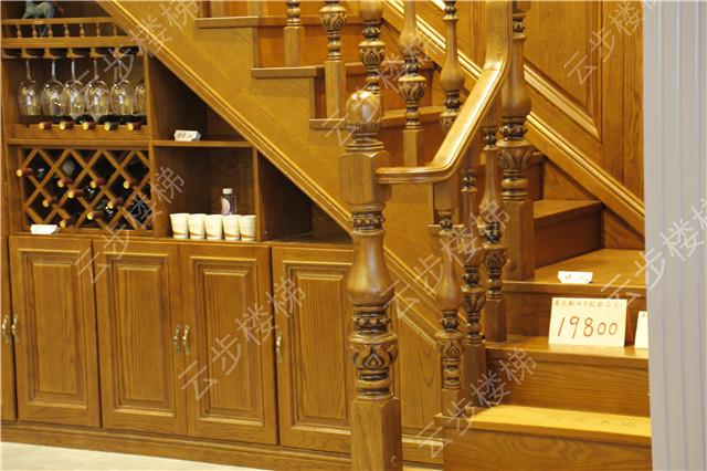 专业制造各种实木楼梯扶手 配件  大柱  弯头