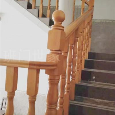 专业定做实木楼梯扶手 立柱